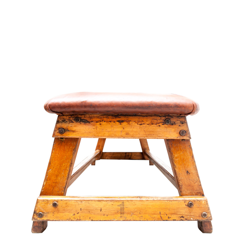 General Store Ltd Chairs Leather Gym Bench