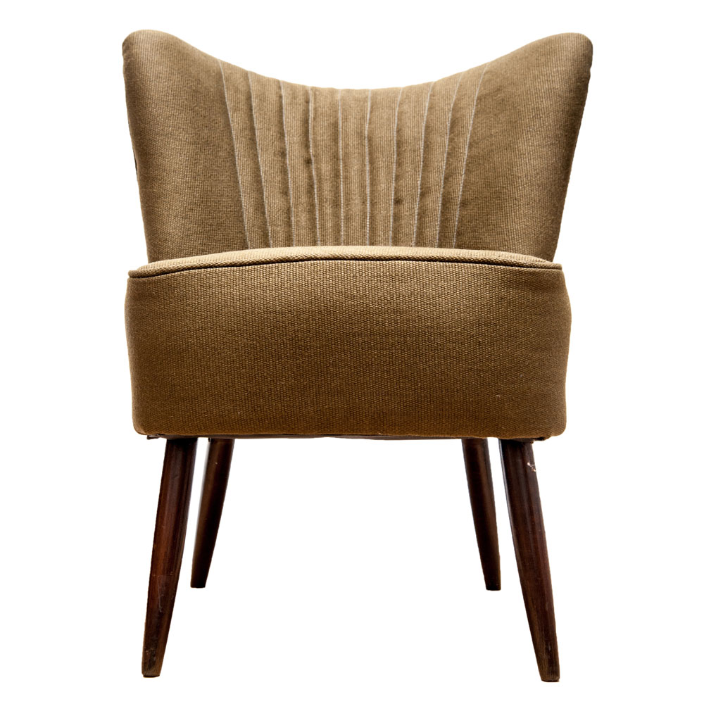 Cherner Armchair Cherner One Piece Upholstered Armchair By